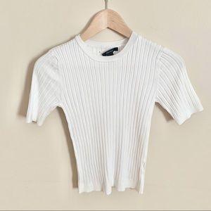 2/$20 XXI Ribbed Short Sleeve Top